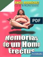 Memorias de Un Homo Erectus - Miguel Angel Rodriguez __El Sevilla_