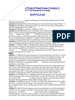 ACCT 346 Week 8 Final Exam (Version 1)