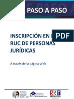 Paraguay - Inscripción en el Ruc Personas Jurídicas