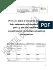 Protocolo Sobre El Manejo de Pacientes Bajo Tratamiento Anticoagulante Oral