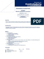 Programa Métodos Quantitativos 2016