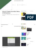 How to Create Accordion Menu (CSS3+jQuery) - Designmodo_1