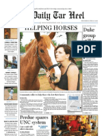 The Daily Tar Heel for April 21, 2010