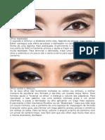 Olhos e Delineadores