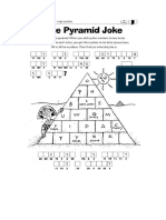 Pyramid Joke Robert the Robot
