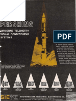 Pershing Missile Ads From Aviation Week