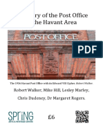 A History of the Post Office in the Havant Area.