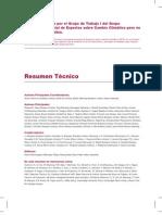 Resumen tecnico IPCC 1