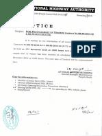 Postponed of Tender s Contrect No(Sm Ps 2014 43 & Sm Ps 2014 44 (n 70)