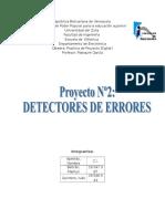 Detector de Errores Electronica