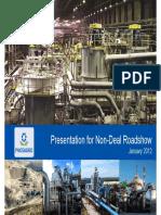 Phos Agro mining company presentation