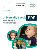 Universally Speaking - Birth to Five