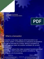 Transn Processing & Serializialibility