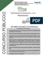 SME - Caderno Questoes PE Pedagogia