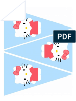 Imprimible Hello Kitty