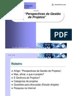 2 - Artigo Perspectivas da Gestão de Projetos