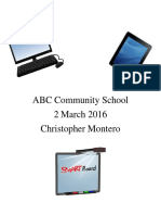 abc community school final project