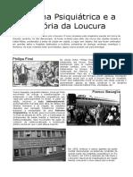 Fanzine Saude Mental Reforma Psiquiátrica