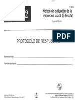 Frostig Protocolo y Manual