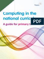 primary computing curriculum
