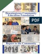 dcef report - update 9 28