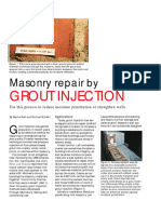Repair by Grout Injection