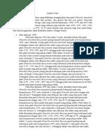 Analisis Data Suhu Aklimasi 20 Derajat C