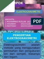 PPT ELEKTROGRAVIMETRI