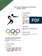 Rugby 7 en Los Juegos Olímpicos de Río de Janeiro 2016