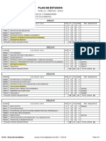 Plan de estudios de Archivo UCSS