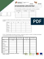 Ficha de Pontuação, Divisão Silábica, Translineação, Tipos e Formas de Frase