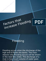 Factors That Increase Flooding!