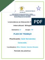 Plan General 3ra Jornada