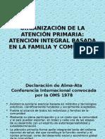 Atencion Integral Basada en Familia y Comunidad