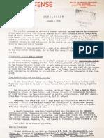 North Carolina Civil Defense - Aug 1954