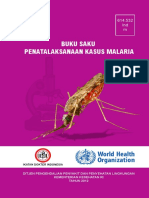 Buku Saku Penatalaksanaan Kasus Malaria 2012