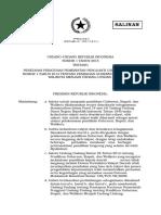 UU No 1 Tahun 2015 Tentang Pemilihan Gubernur,Bupati,Dan Walikota
