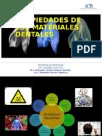 Propiedades de Los Materiales Dentales