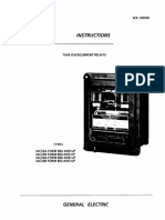 GE Time Overcurrent Relay