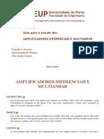 Amplificadores Diferenciais e Multiandar