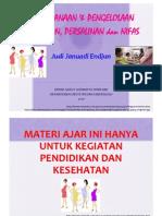 Perencanaan & Pengelolaan Kehamilan, Persalinan, & Nifas. JJE 20100422