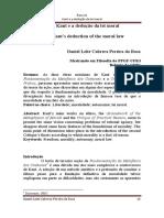 Kant e a dedução da lei moral.pdf