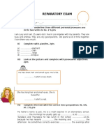 Reparatory Exam