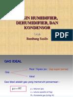 Mesin Humidifier, Dehumidifier Dan Kondensor