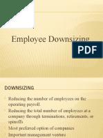 Employee Downsizing