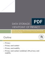 Privacy Data Storage Humboldt