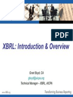 XBRL-IntroductionandOverview