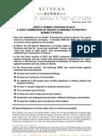 21Apr10 SPDC Crimes Continue in 2010