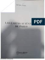 Gal 4, 13-14 S. Vidal