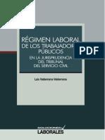 Régimen Laboral de Los Trabajadores Públicos, GJ 64p.